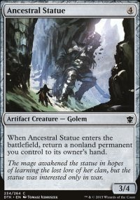 Ancestral Statue - Dragons of Tarkir