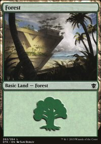 Forest 1 - Dragons of Tarkir