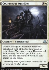 Courageous Outrider - Eldritch Moon