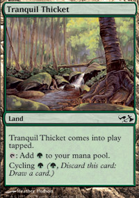 Tranquil Thicket - Elves vs. Goblins
