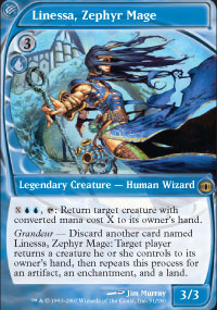Linessa, Zephyr Mage - Future Sight