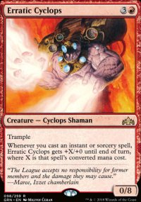 Erratic Cyclops -