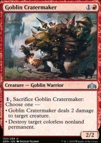 Goblin Cratermaker -