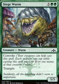 Siege Wurm -