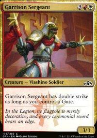 Garrison Sergeant -