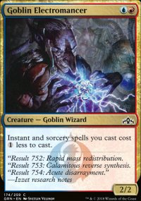 Goblin Electromancer -