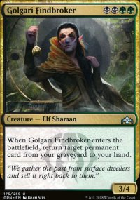 Golgari Findbroker -