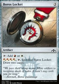 Boros Locket -