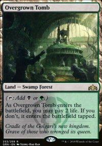 Overgrown Tomb -