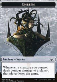 Emblem Vraska, Golgari Queen -