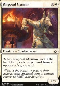 Disposal Mummy - Hour of Devastation