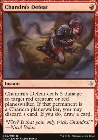 Chandra's Defeat - Hour of Devastation