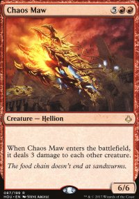 Chaos Maw - Hour of Devastation