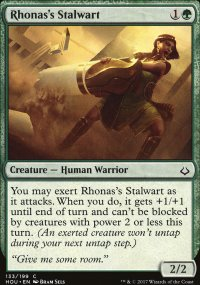 Rhonas's Stalwart - Hour of Devastation