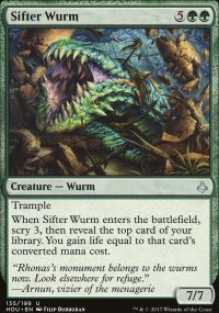 Sifter Wurm - Hour of Devastation