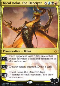 Nicol Bolas, the Deceiver - Hour of Devastation