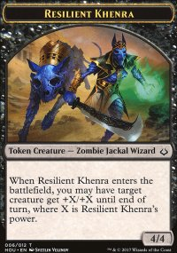 Resilient Khenra Token - Hour of Devastation