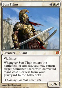 Sun Titan - Heroes vs. Monsters