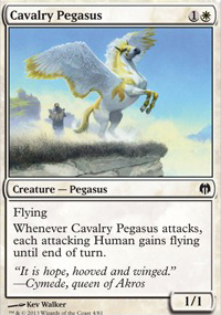 Cavalry Pegasus - Heroes vs. Monsters