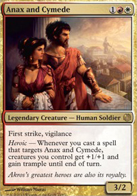 Anax and Cymede - Heroes vs. Monsters