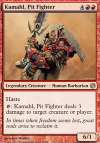 Kamahl, Pit Fighter - Heroes vs. Monsters