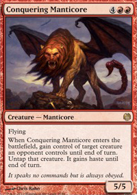 Conquering Manticore - Heroes vs. Monsters