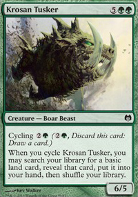 Krosan Tusker - Heroes vs. Monsters