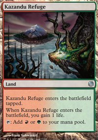 Kazandu Refuge - Heroes vs. Monsters