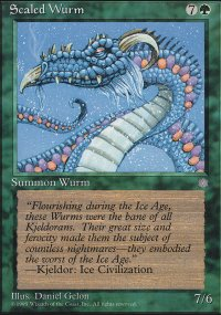 Scaled Wurm - Ice Age