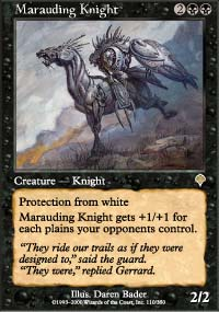 Marauding Knight - Invasion