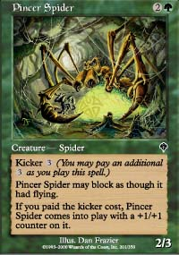 Pincer Spider - Invasion