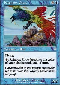 Rainbow Crow - Invasion