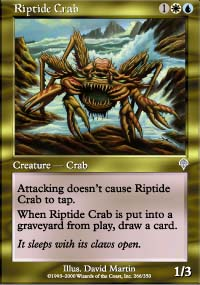 Riptide Crab - Invasion