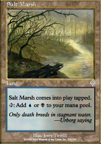 Salt Marsh - Invasion