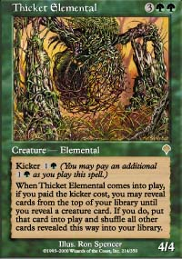 Thicket Elemental - Invasion