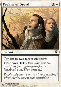 Feeling of Dread - Innistrad