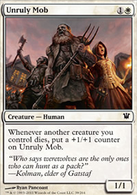 Unruly Mob - Innistrad