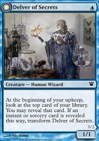 Delver of Secrets - Innistrad