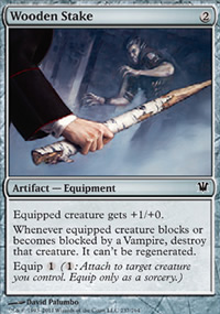 Wooden Stake - Innistrad