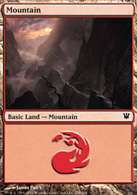 Mountain 1 - Innistrad