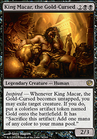 King Macar, the Gold-Cursed - Journey into Nyx