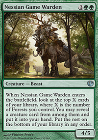 Nessian Game Warden - Journey into Nyx