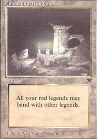 Mountain Stronghold - Legends