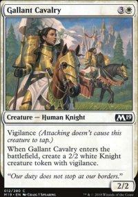Gallant Cavalry -