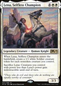 Lena, Selfless Champion -
