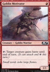 Goblin Motivator -