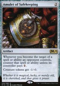 Amulet of Safekeeping -