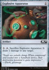 Explosive Apparatus -