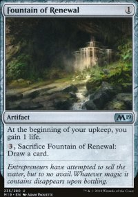 Fountain of Renewal -