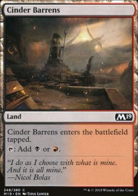 Cinder Barrens -